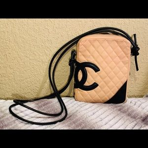CHANEL Quilted Calfskin Crossbody